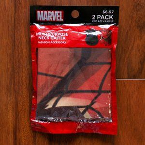 Marvel Comics Spiderman Neck + Face Gaiter Mask